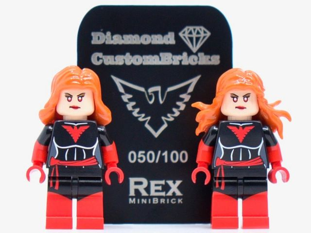 RexMiniBrick x DCB Phoenix Custom Minifigures