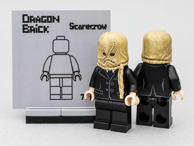 Dragon Brick Scarecrow Custom Minifigure V2