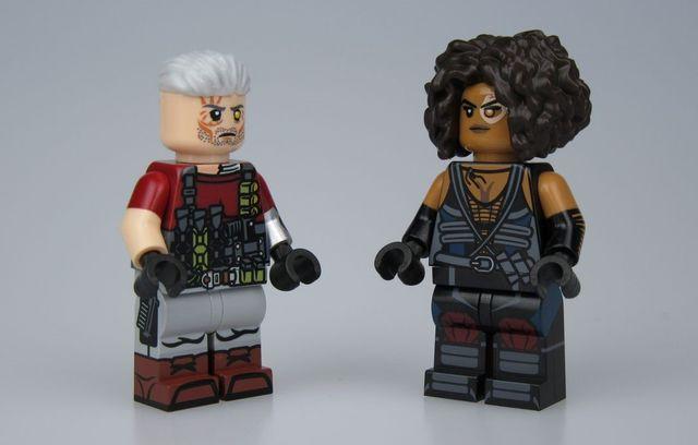 Funny Brick Cable & Domino Custom Minifigures