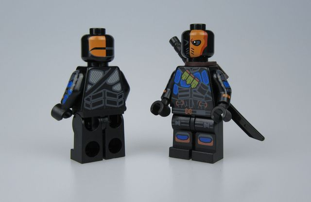 SH x PC Armored Mercenary V2  Custom Minifigure