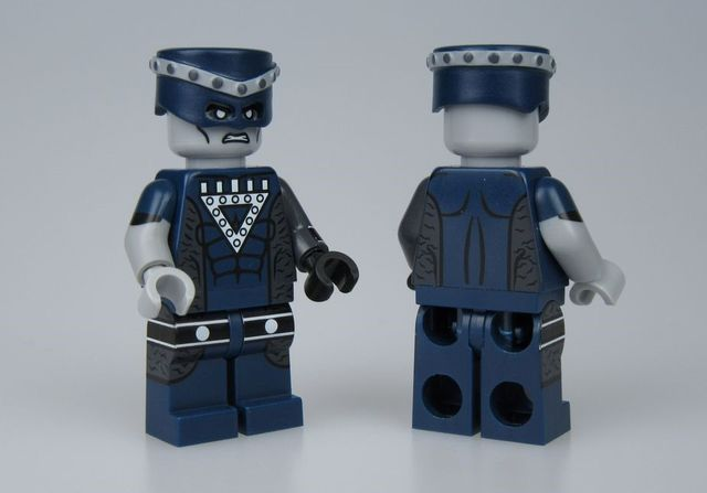 Crystal Black Hand Custom Minifigure