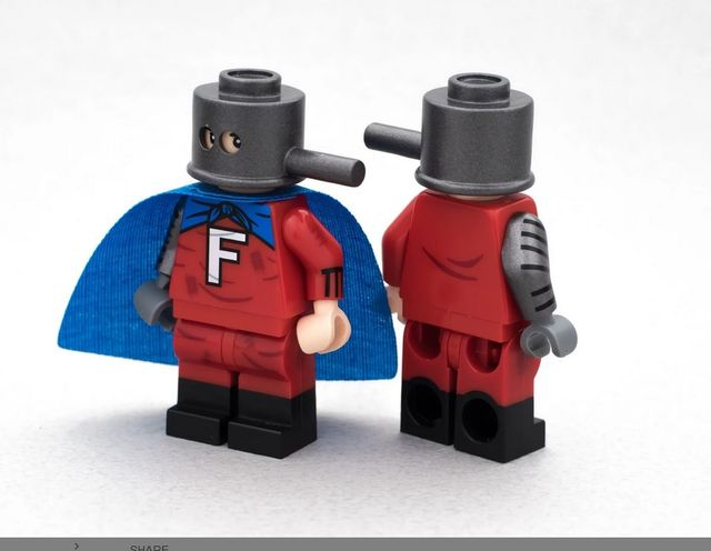Crystal Forbush Man Custom Minifigure
