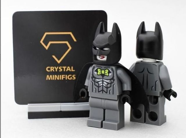 Crystal Clown Batman Custom Minifigure