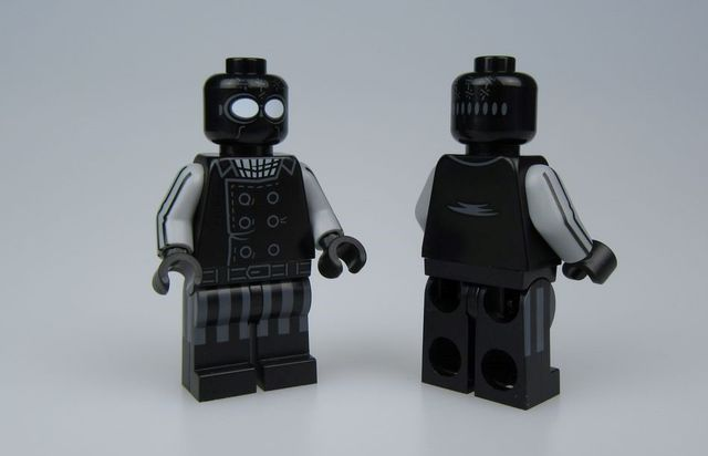 Crystal Spider Noir Custom Minifigure
