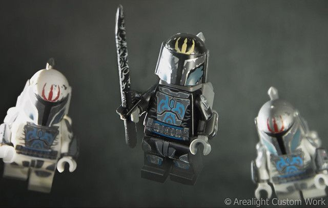 Arealight Hunter Pre Custom Minifigure