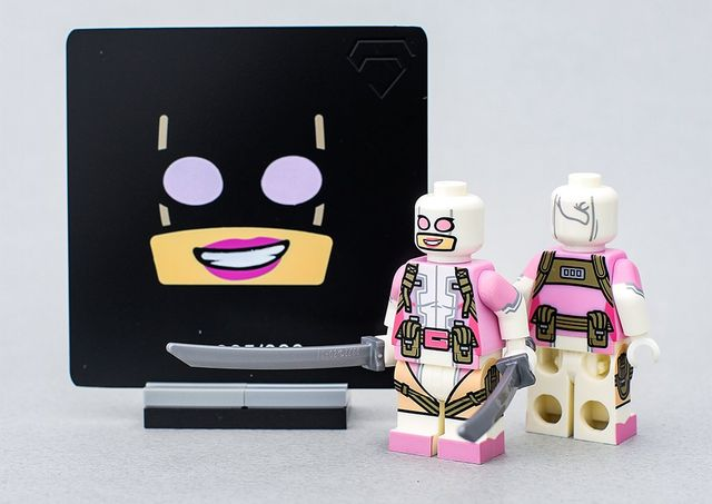 Crystal GwenPool Custom Minifigure