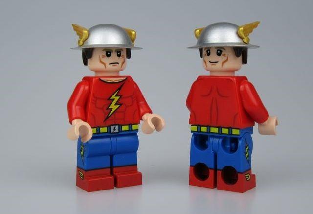 Crystal Jay Garrick Custom Minifigure