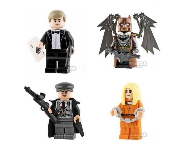 FST Aug19 Custom Minifigures
