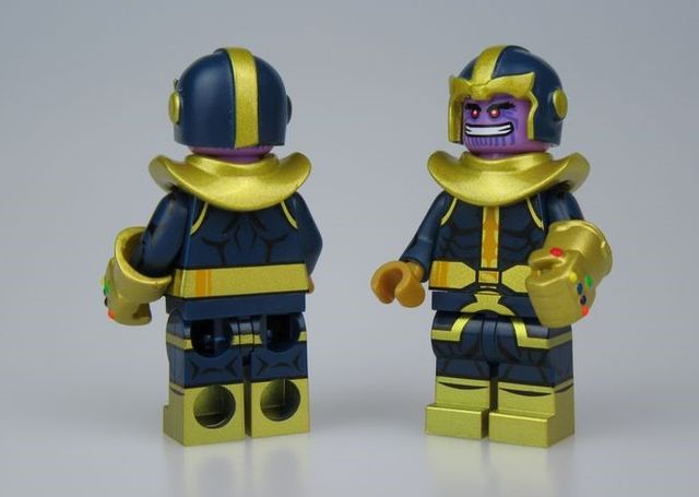 UG Comic Thanos Custom Minifigure