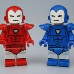 MaxBrick Iron Man Custom Minifigures