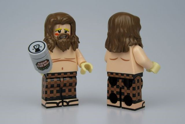 UG Beer Thor Custom Minifigure