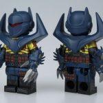 UG Knight Fall Bat Custom Minifigure