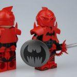 UG v CrazyMinifigs Earth 10 Batman Custom Miniifgure
