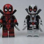 MaxBrick Pajamas Deadpool Custom Minifigure