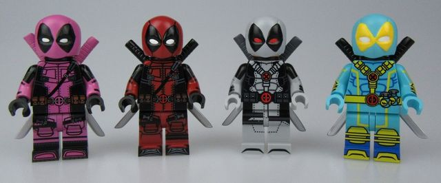 UG Deadpool Custom Minifigures