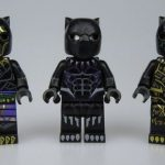 Crystal Black Panther Custom Minifigures