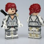Lab9 White Widow Concept Custom Minifigure
