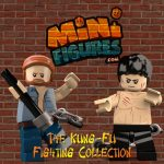 The Kung Fu Fighting Custom Minifigures