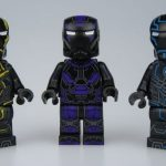 UG Tron Iron Man Custom Minifigures