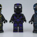 UG Tron Iron Man Custom Minifigures