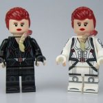 Phoenix v Diamond Black Widow  Custom Minifigures