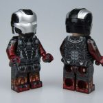 CrazyMinifigs v Minifig Factory Iron Man Custom Minifigures