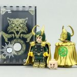Outside Brick Hydra Loki Custom Minifigure