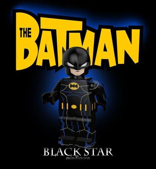 Black Star Custom Minifigures Custom Lego Minifigures