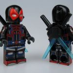 CM v UG Tron Deadpool Custom Minifigure