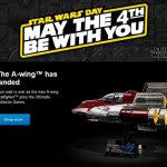 LEGO May The 4th 2020 Event A-wing Starfighter 75275