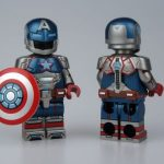 BrothersFigure Patriot Armor  Custom Minifigure