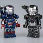 LeYiLeBrick Iron Patriot & War Machine Custom Minifigures