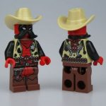 LeYiLeBrick Sheriff Deadpool Custom Minifigure