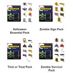 Custom Printed Halloween Packs