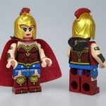 Outside Brick Wonder Woman Heroines Custom Minifigure