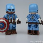 Golden Age Cap Dragon Brick x Outside Brick Custom Minifigure