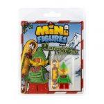 Christmas Elf Custom Minifigures