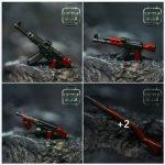 Bricktroops Dual Molded Weapons