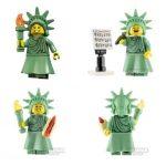 Miss Liberty Custom Minifigure