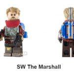 SW The Marshall Custom Minifigure