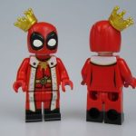 King Deadpool Custom Minifigure