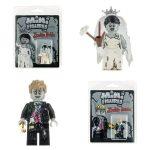 Zombie Bride & Groom Custom Minifigures